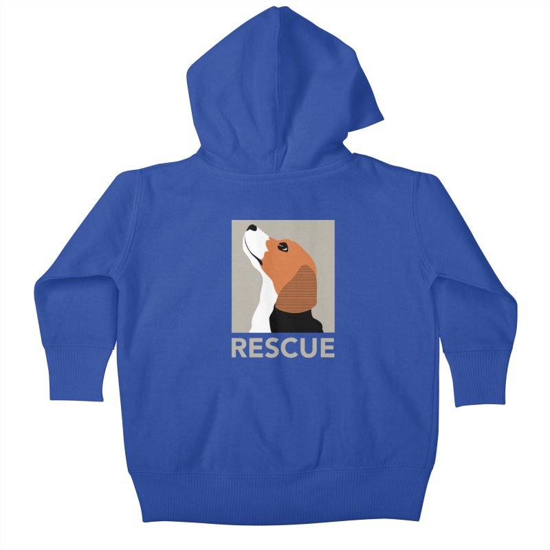 Rescue Kids Baby Zip-Up Hoody by trekvix's Artist Shop