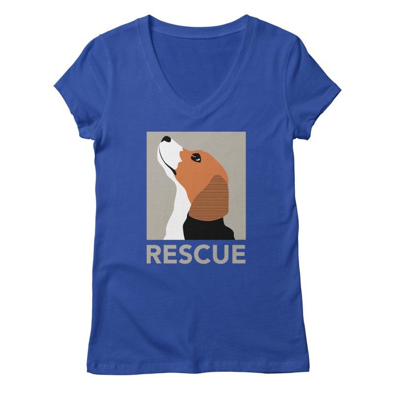 Rescue Women's V-Neck by trekvix's Artist Shop