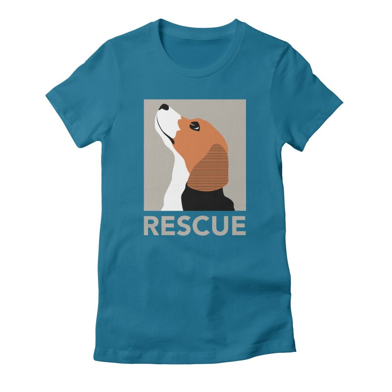 Rescue Women's Fitted T-Shirt by trekvix's Artist Shop