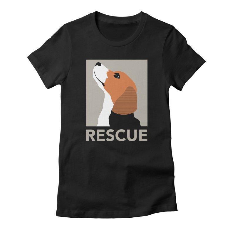 Rescue Women's Fitted T-Shirt by trekvix's Artist Shop