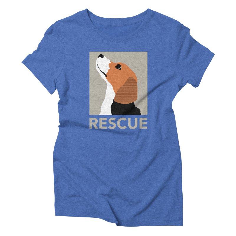 Rescue Women's Triblend T-shirt by trekvix's Artist Shop