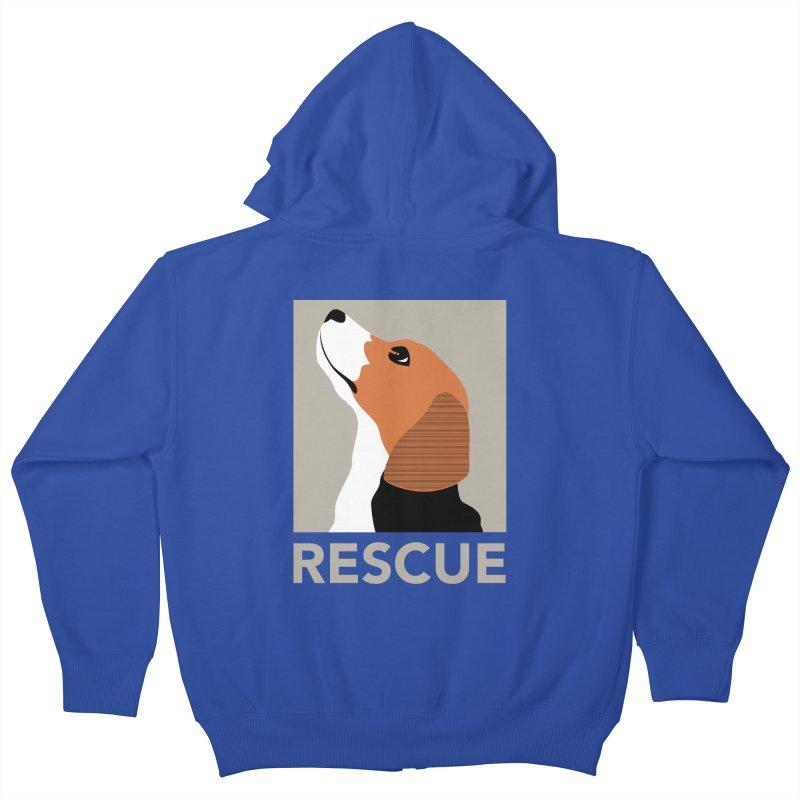 Rescue Kids Zip-Up Hoody by trekvix's Artist Shop