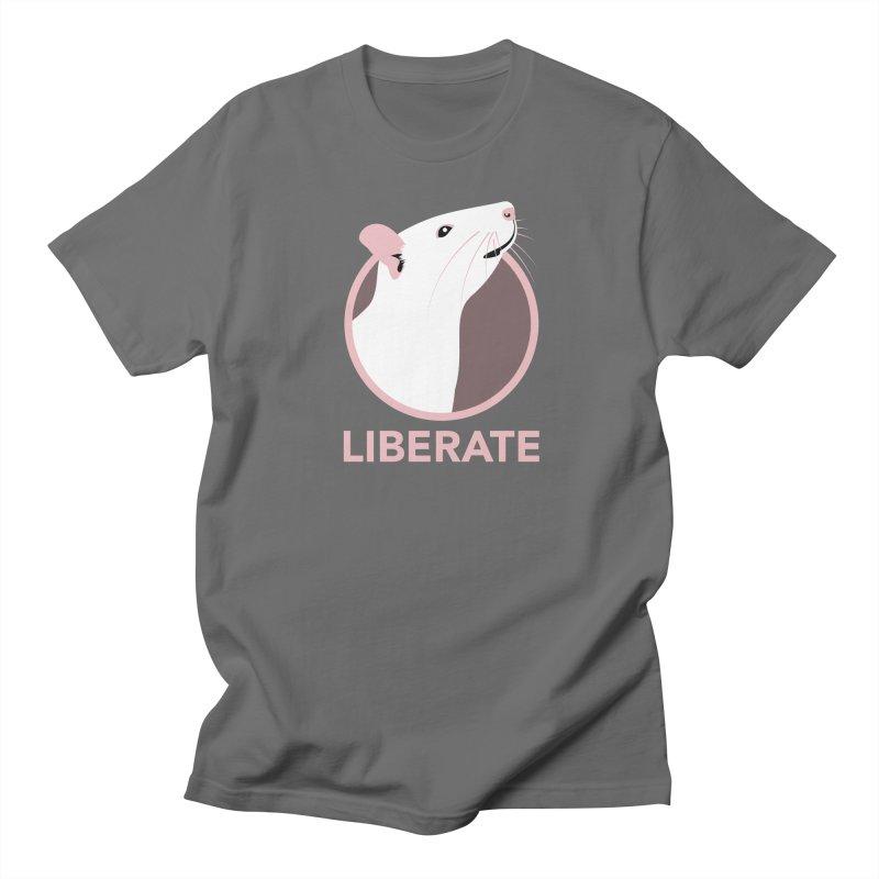 Liberate! (Rat) Men's T-Shirt by trekvix's Artist Shop