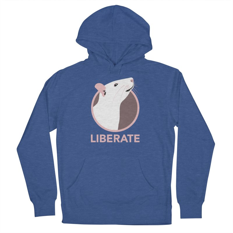 Liberate! (Rat) Men's Pullover Hoody by trekvix's Artist Shop