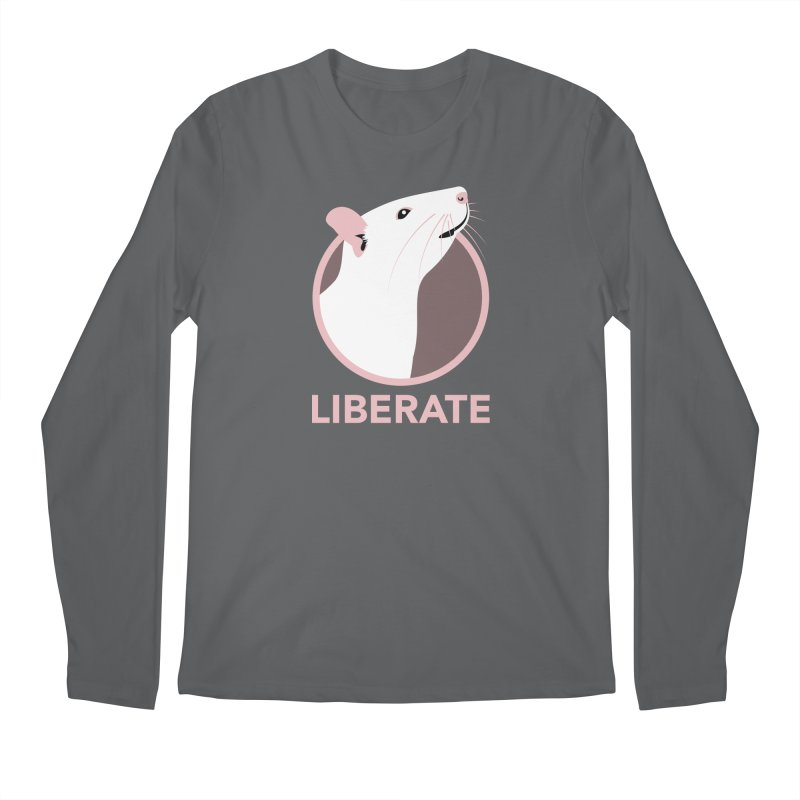 Liberate! (Rat) Men's Longsleeve T-Shirt by trekvix's Artist Shop