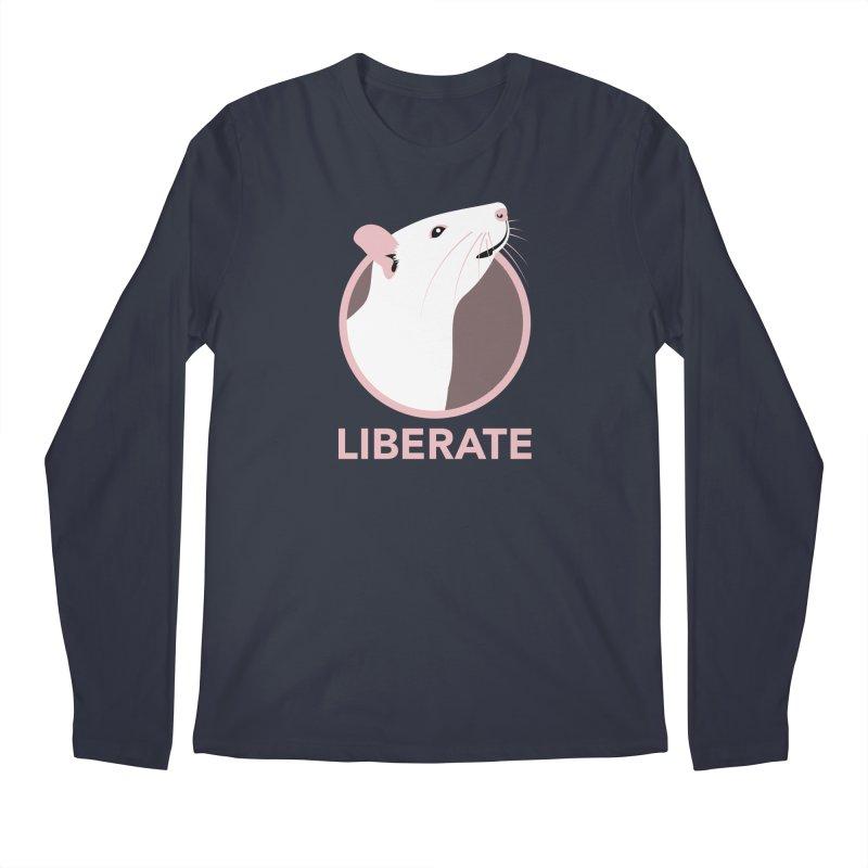 Liberate! (Rat) Men's Longsleeve T-Shirt by trekvix's Artist Shop