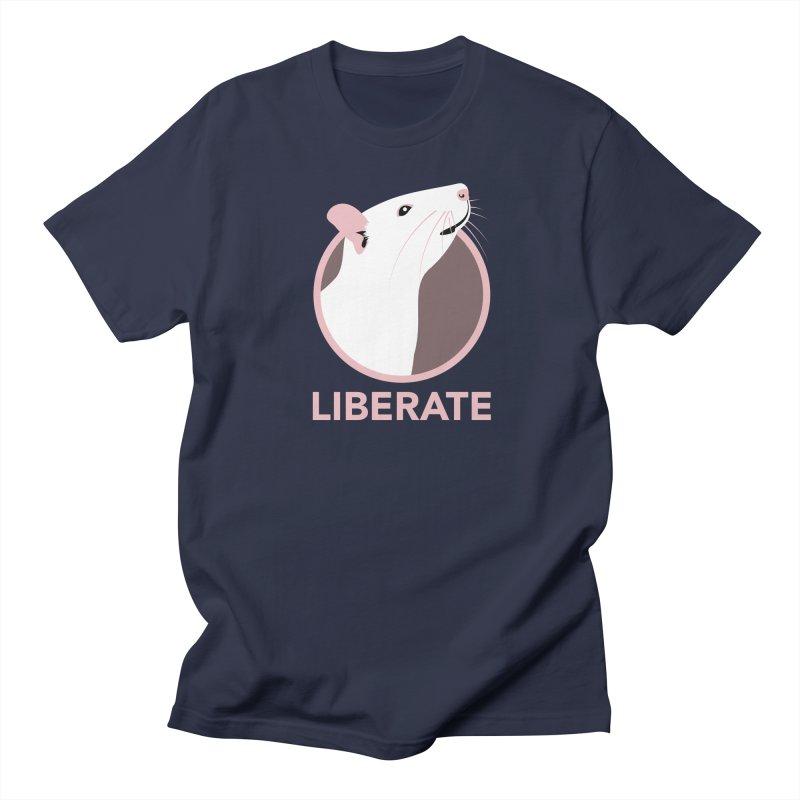 Liberate! (Rat) Women's Unisex T-Shirt by trekvix's Artist Shop