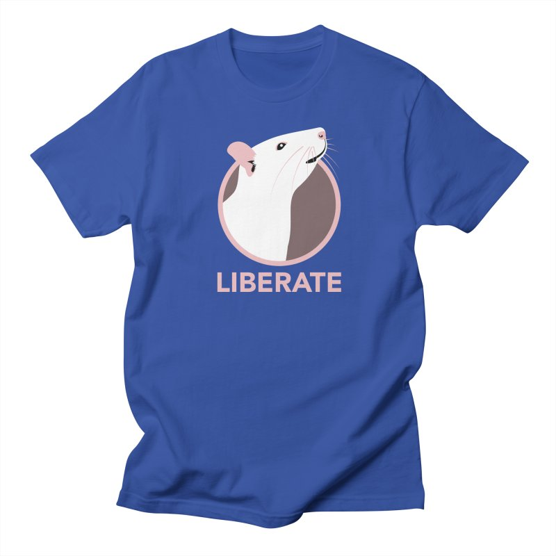Liberate! (Rat) Women's Unisex T-Shirt by trekvix's Artist Shop
