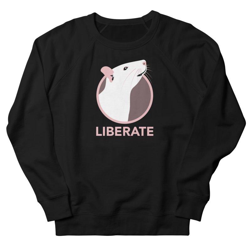Liberate! (Rat) Men's Sweatshirt by trekvix's Artist Shop