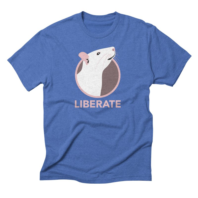 Liberate! (Rat) Men's Triblend T-Shirt by trekvix's Artist Shop