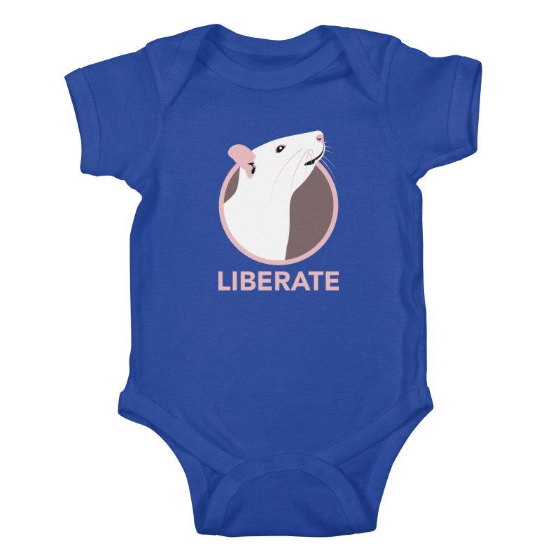Liberate! (Rat) Kids Baby Bodysuit by trekvix's Artist Shop