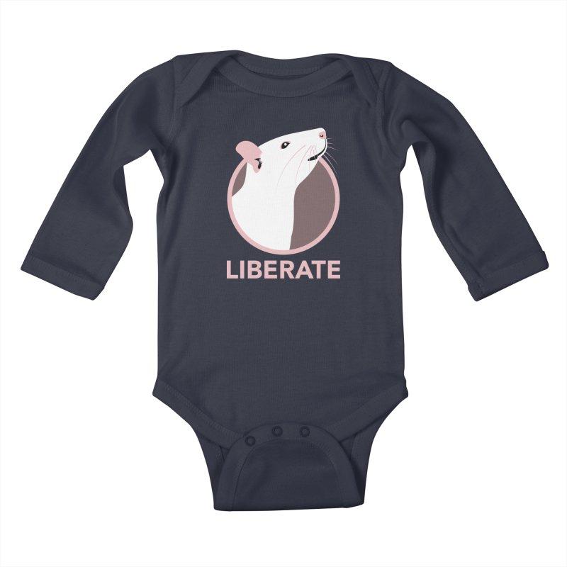 Liberate! (Rat) Kids Baby Longsleeve Bodysuit by trekvix's Artist Shop