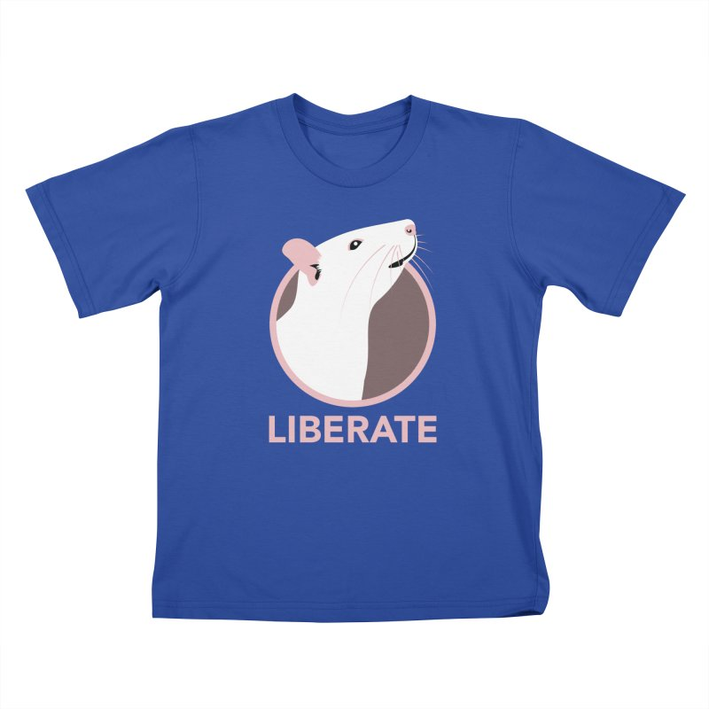 Liberate! (Rat) Kids T-Shirt by trekvix's Artist Shop