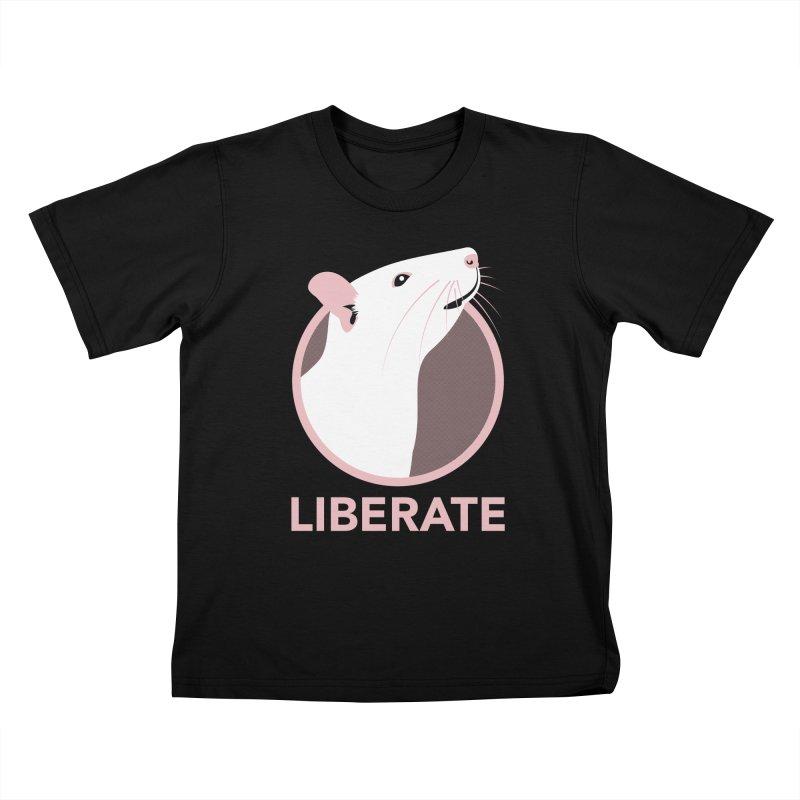 Liberate! (Rat) Kids T-Shirt by trekvix's Artist Shop