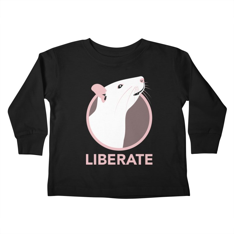 Liberate! (Rat) Kids Toddler Longsleeve T-Shirt by trekvix's Artist Shop
