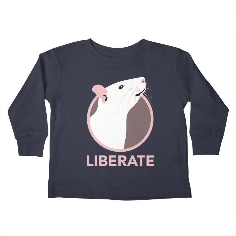 Liberate! (Rat) Kids Toddler Longsleeve T-Shirt by trekvix's Artist Shop