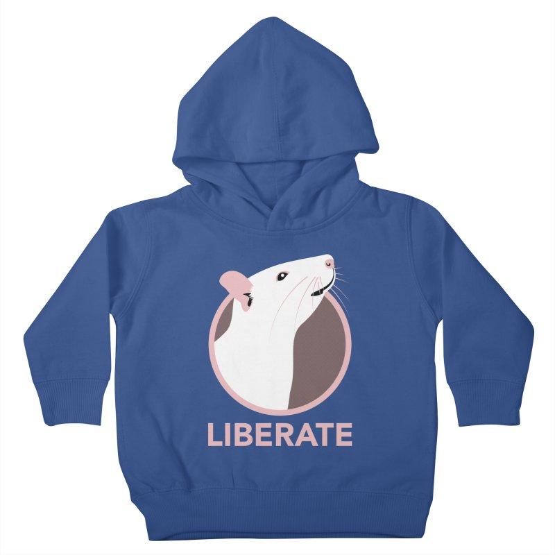 Liberate! (Rat) Kids Toddler Pullover Hoody by trekvix's Artist Shop