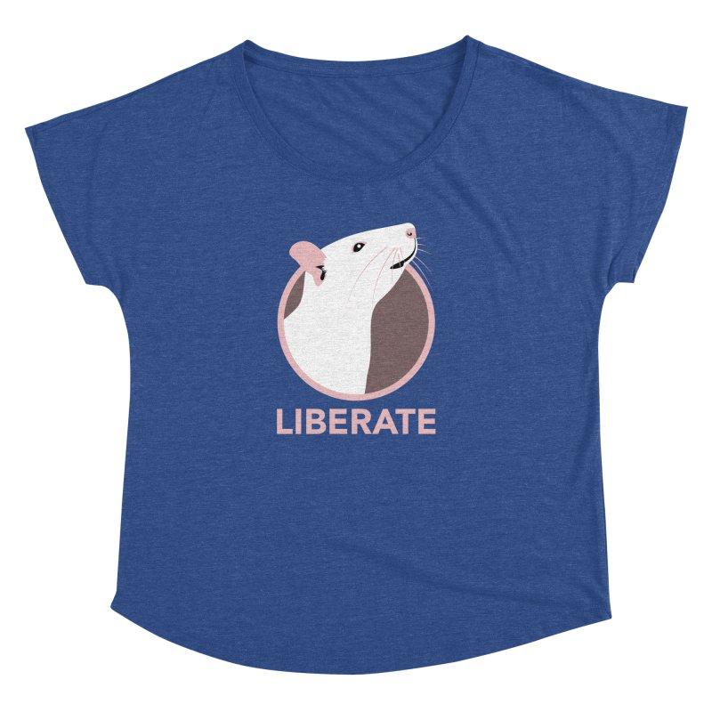 Liberate! (Rat) Women's Dolman by trekvix's Artist Shop