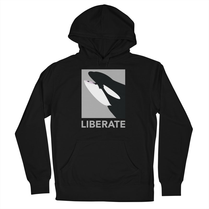 Liberate! (Orca) Women's Pullover Hoody by trekvix's Artist Shop