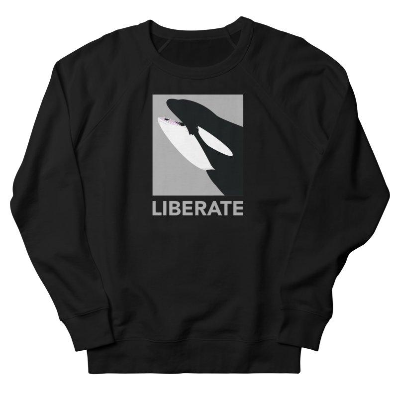 Liberate! (Orca) Women's Sweatshirt by trekvix's Artist Shop