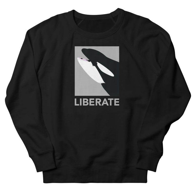 Liberate! (Orca) Men's Sweatshirt by trekvix's Artist Shop