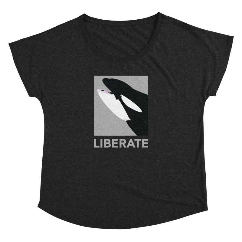 Liberate! (Orca) Women's Dolman by trekvix's Artist Shop