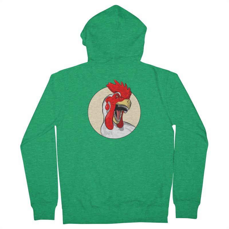 Chickens are Dinosaurs Women's Zip-Up Hoody by trekvix's Artist Shop