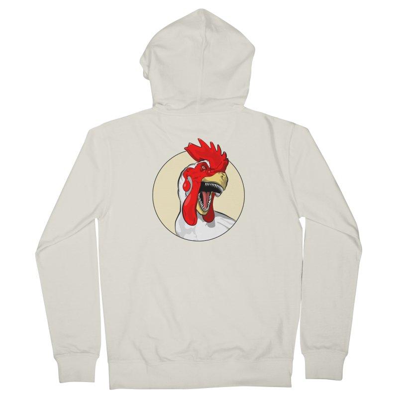 Chickens are Dinosaurs Men's Zip-Up Hoody by trekvix's Artist Shop
