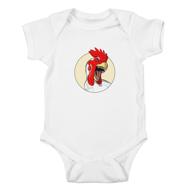 Chickens are Dinosaurs Kids Baby Bodysuit by trekvix's Artist Shop