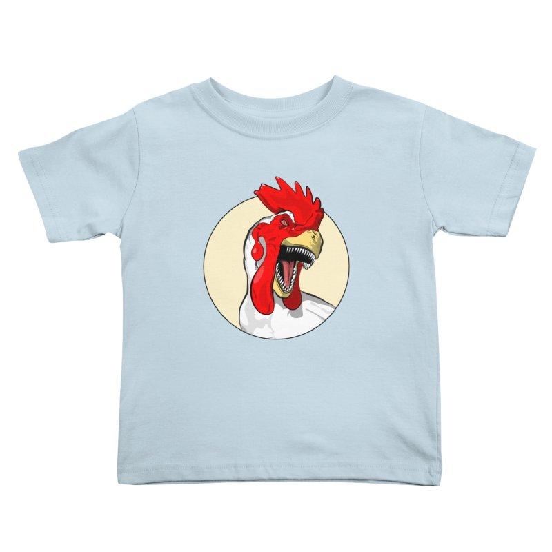 Chickens are Dinosaurs Kids Toddler T-Shirt by trekvix's Artist Shop