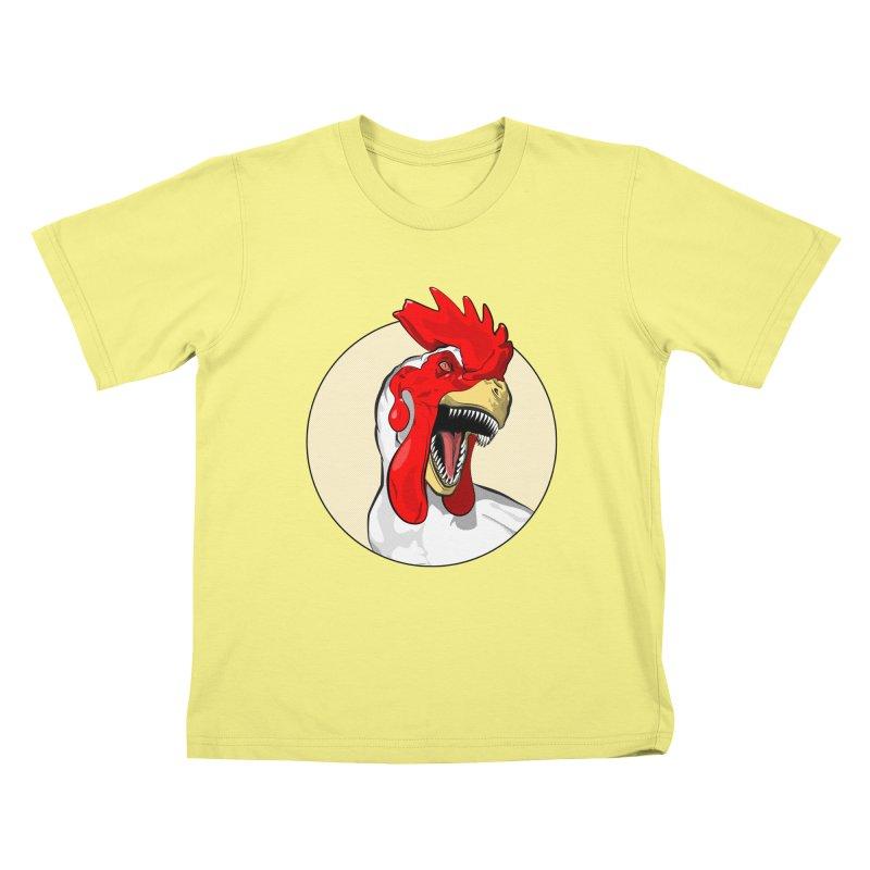 Chickens are Dinosaurs Kids T-shirt by trekvix's Artist Shop