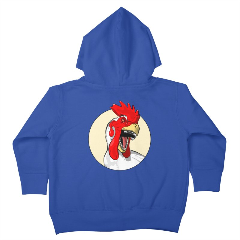 Chickens are Dinosaurs Kids Toddler Zip-Up Hoody by trekvix's Artist Shop