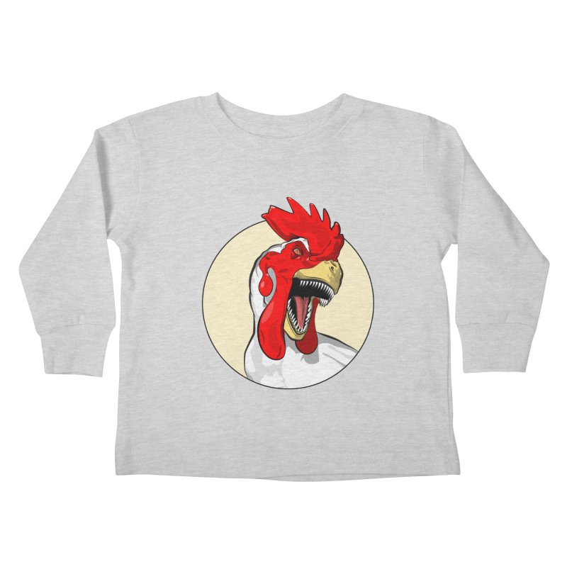 Chickens are Dinosaurs Kids Toddler Longsleeve T-Shirt by trekvix's Artist Shop
