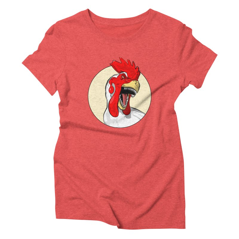 Chickens are Dinosaurs Women's Triblend T-shirt by trekvix's Artist Shop