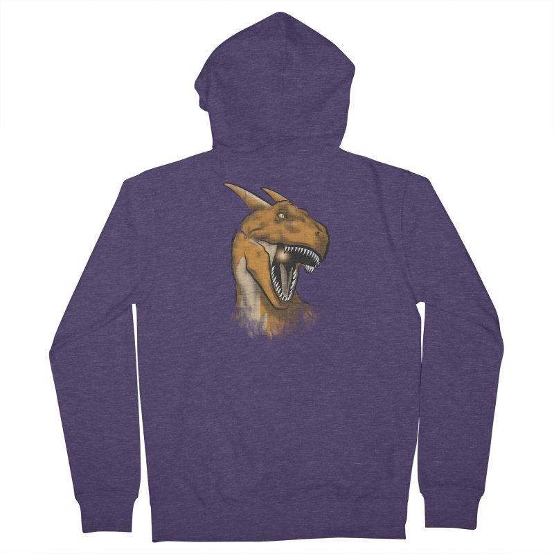 Charisaurus Rex Men's Zip-Up Hoody by trekvix's Artist Shop