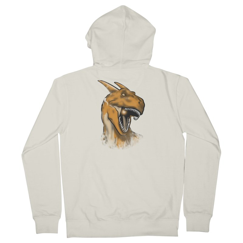 Charisaurus Rex Men's Zip-Up Hoody by trekvix's Artist Shop