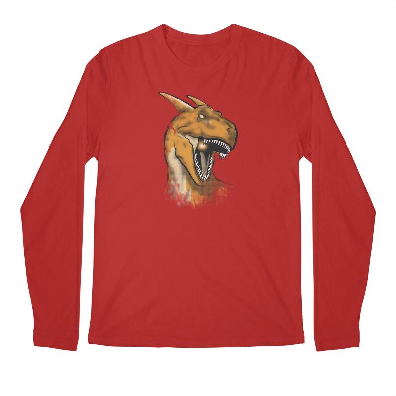 Charisaurus Rex Men's Longsleeve T-Shirt by trekvix's Artist Shop