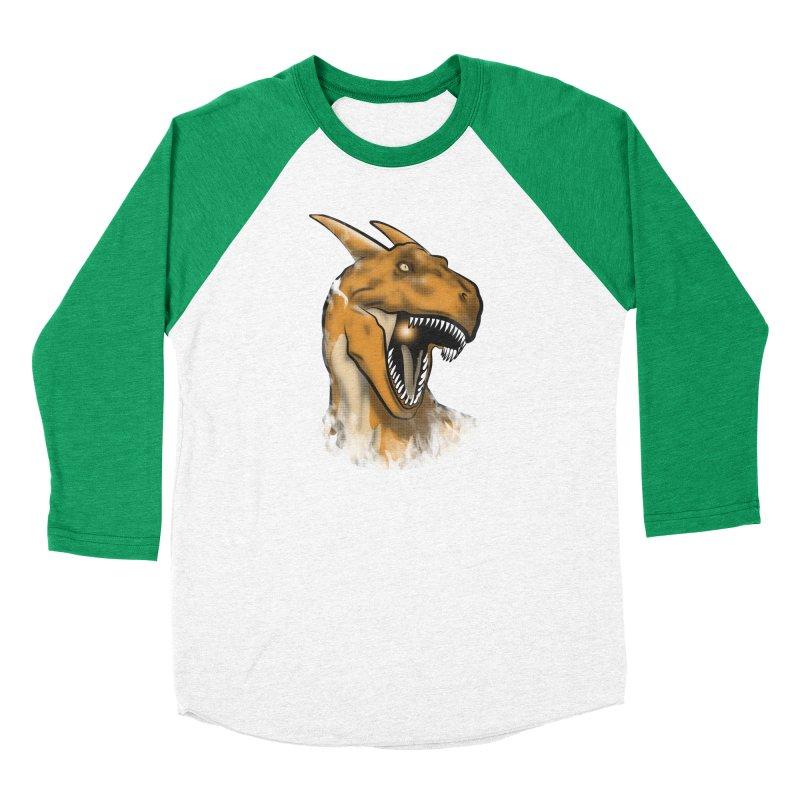 Charisaurus Rex Women's Baseball Triblend T-Shirt by trekvix's Artist Shop