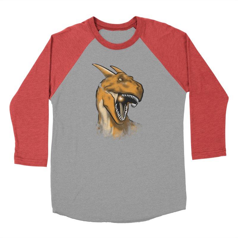Charisaurus Rex Men's Baseball Triblend T-Shirt by trekvix's Artist Shop