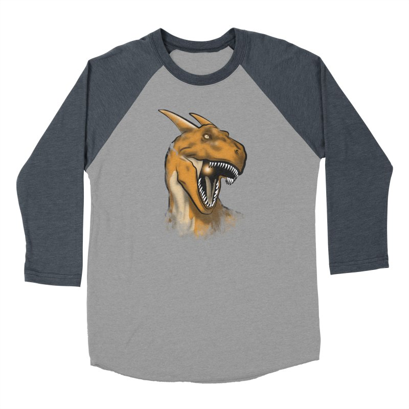 Charisaurus Rex Men's Baseball Triblend T-Shirt by trekvix's Artist Shop