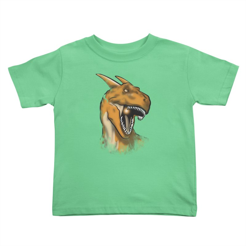 Charisaurus Rex Kids Toddler T-Shirt by trekvix's Artist Shop