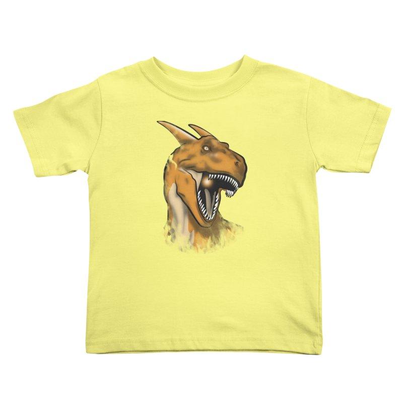 Charisaurus Rex Kids Toddler T-Shirt by trekvix's Artist Shop