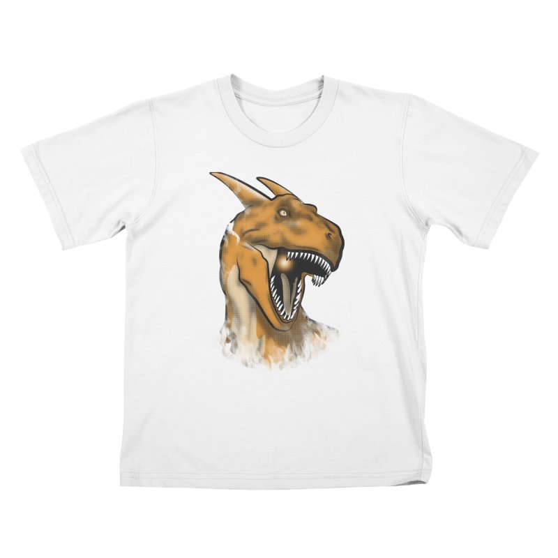 Charisaurus Rex Kids T-shirt by trekvix's Artist Shop