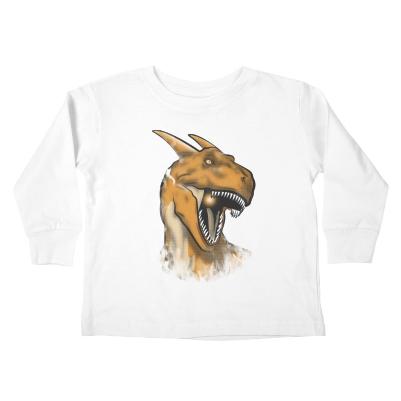 Charisaurus Rex Kids Toddler Longsleeve T-Shirt by trekvix's Artist Shop
