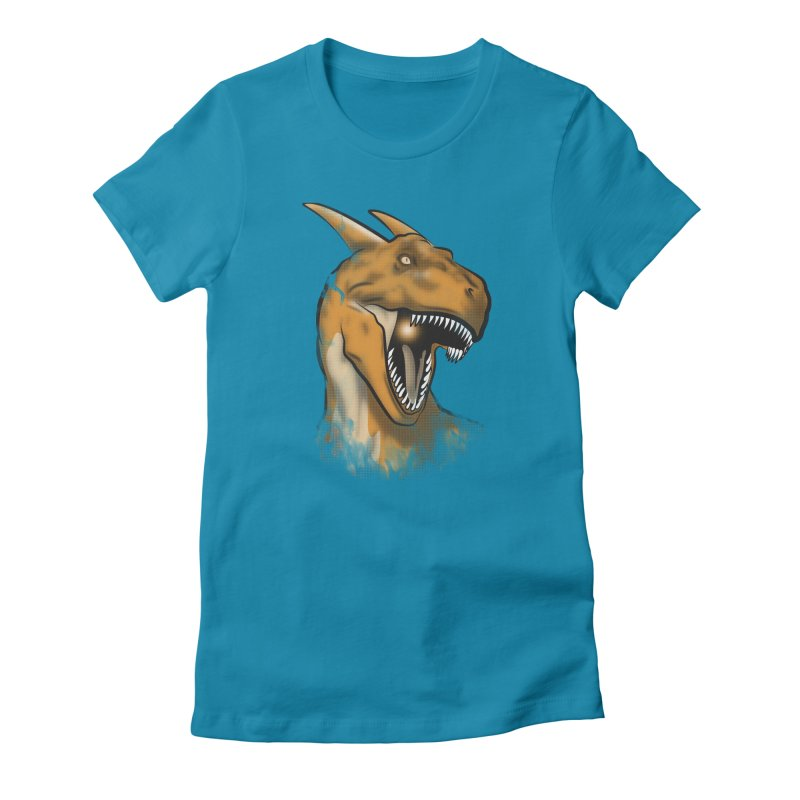 Charisaurus Rex Women's Fitted T-Shirt by trekvix's Artist Shop