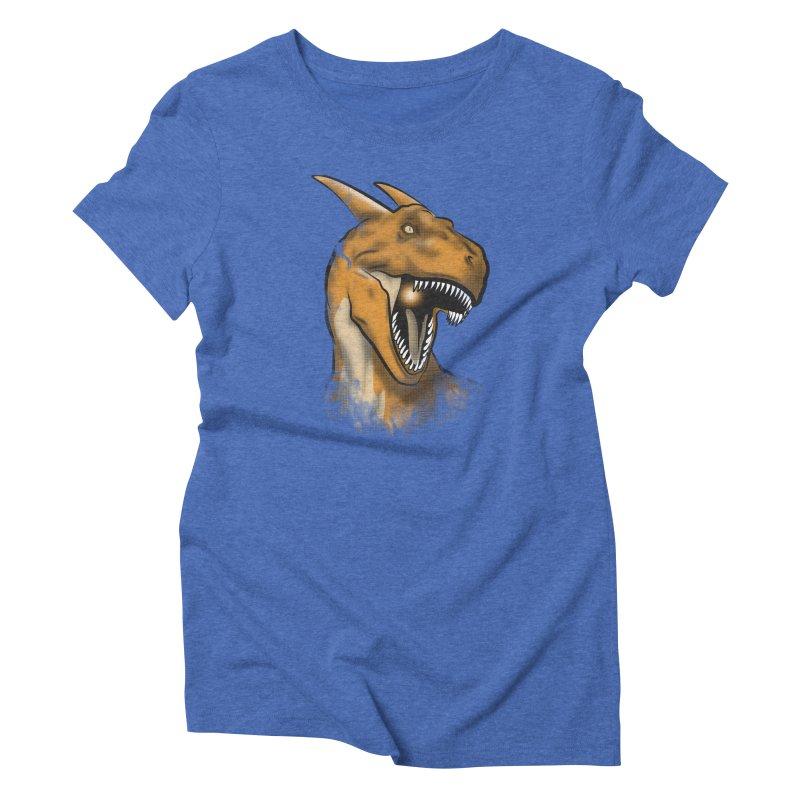Charisaurus Rex Women's Triblend T-Shirt by trekvix's Artist Shop