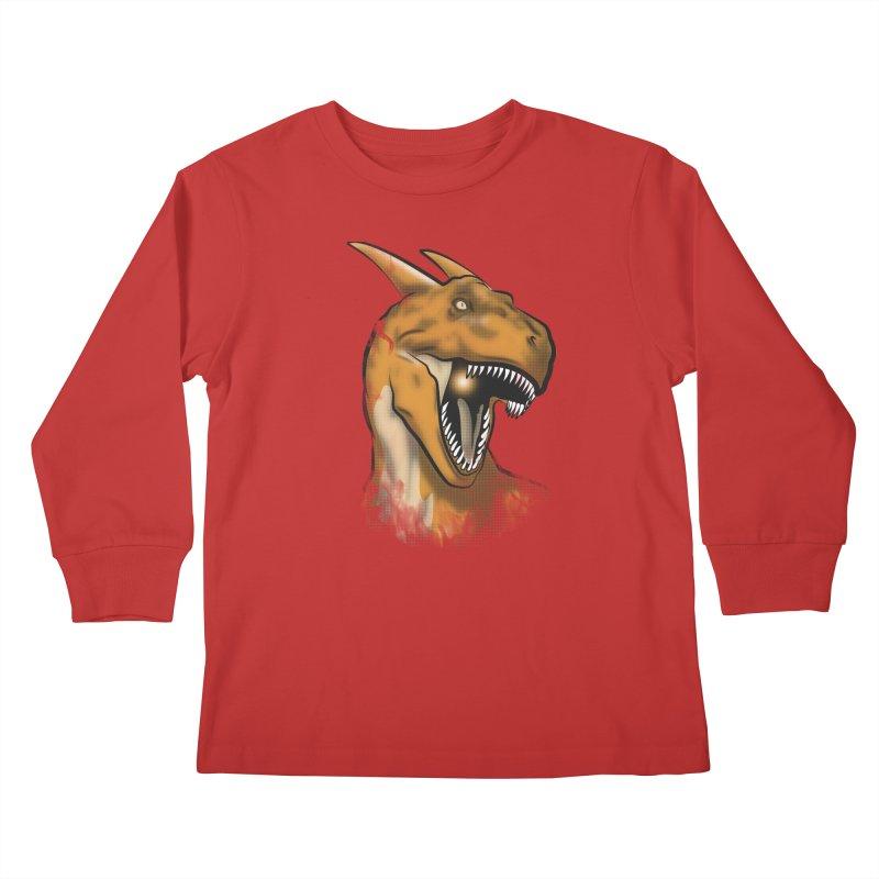 Charisaurus Rex Kids Longsleeve T-Shirt by trekvix's Artist Shop