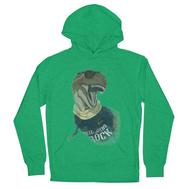 Hipstereosaurus Rex Women's Pullover Hoody by trekvix's Artist Shop