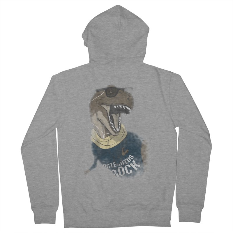 Hipstereosaurus Rex Men's Zip-Up Hoody by trekvix's Artist Shop