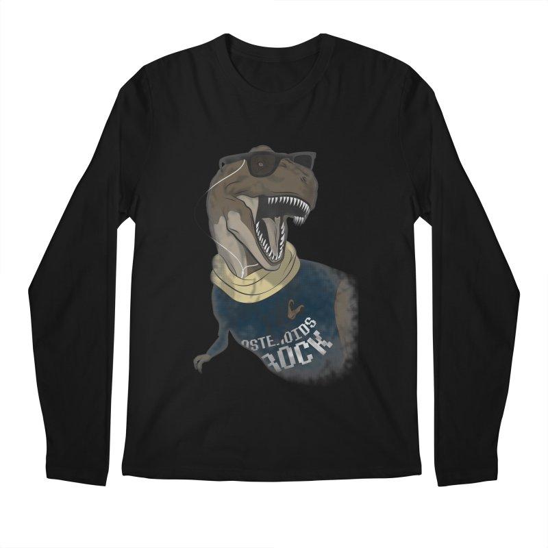 Hipstereosaurus Rex Men's Longsleeve T-Shirt by trekvix's Artist Shop